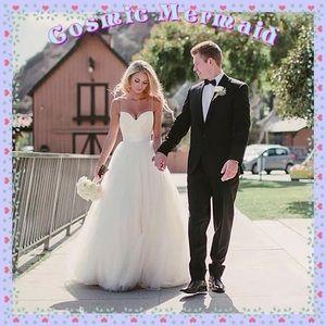 Dresses & Skirts - ⭐️Elegant Tulle Princess Wedding Dress⭐️ Simple💕